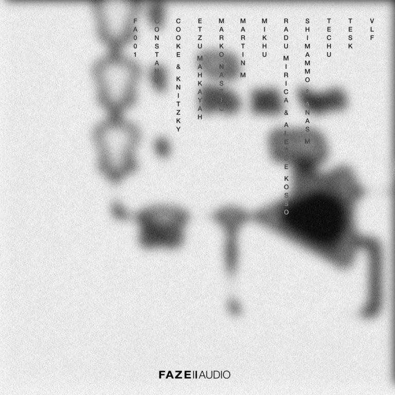 Faze audio 001 cover